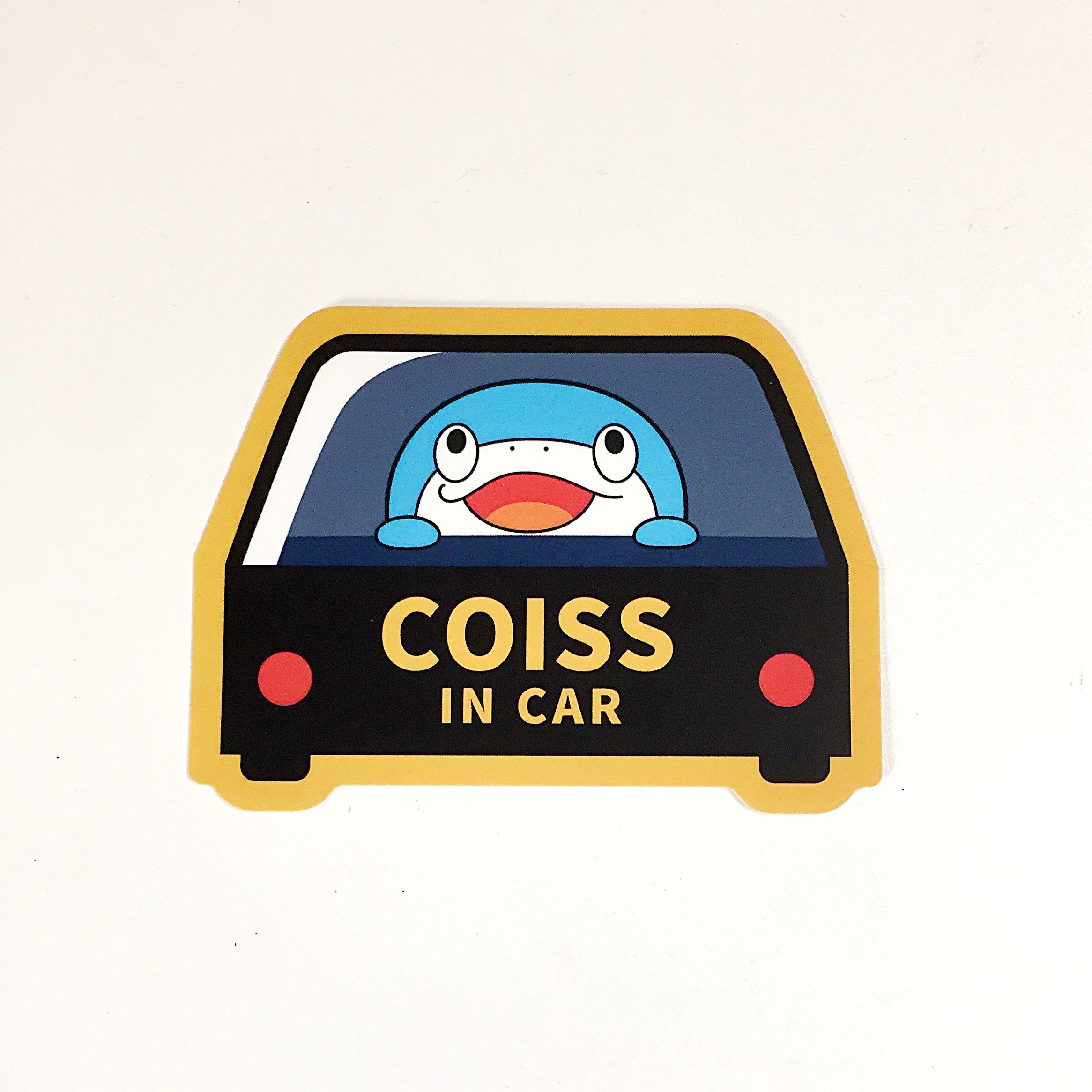 ステッカー COISS IN CAR