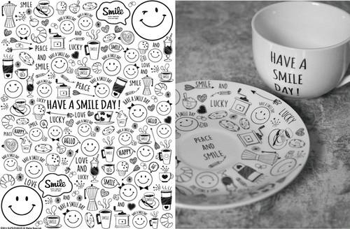 Smile Cafe 転写紙