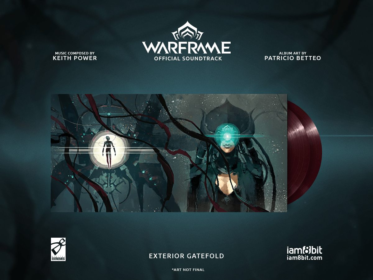 【ウォーフレーム】Warframe Vinyl Soundtrack 2xLP - 画像2