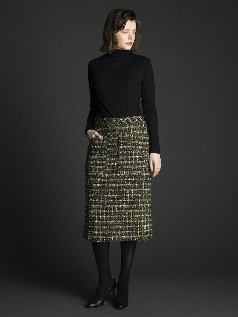 linton tweed skirt