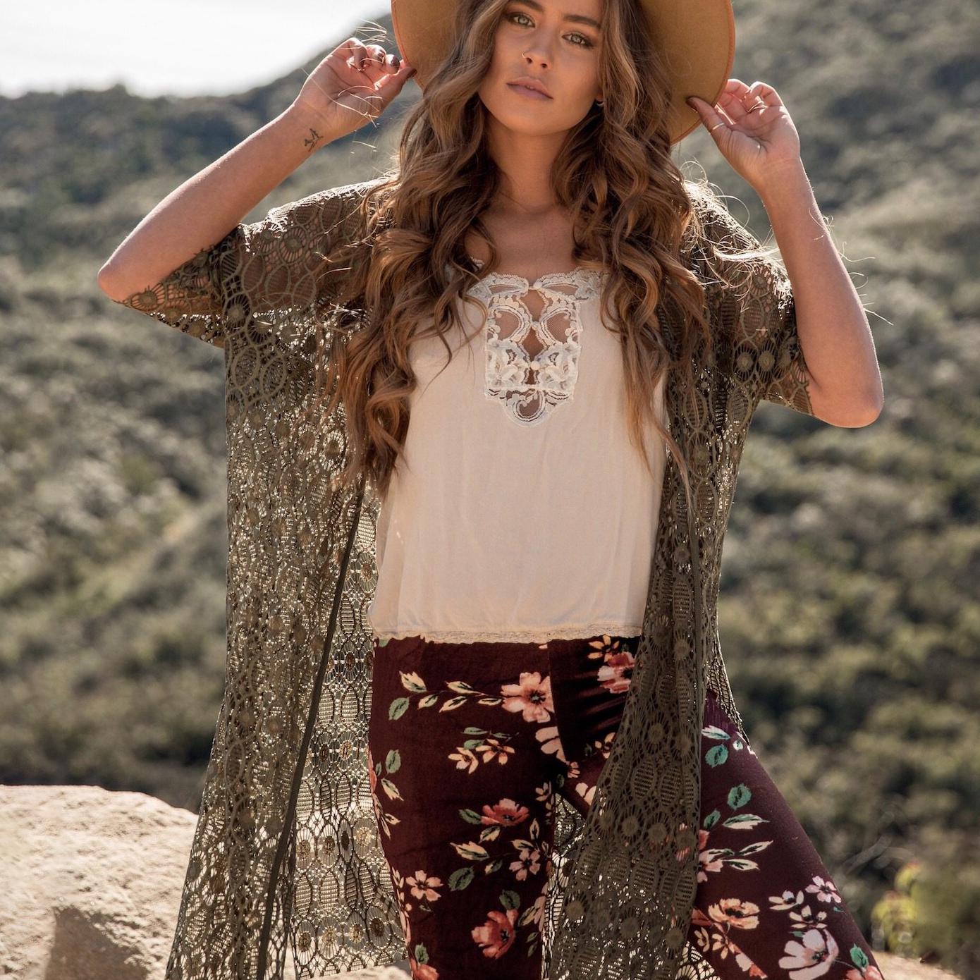 Lace Cardigan Kimono