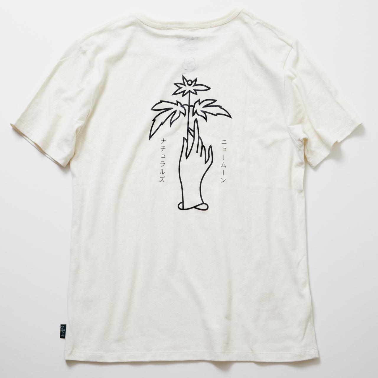 "NUMUN X GOHEMP 限定コラボTシャツ ""ニュームーン"" WHITE"