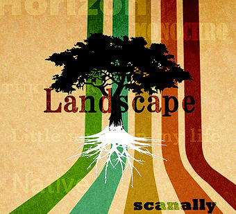 『Landscape』 scanally  1st album