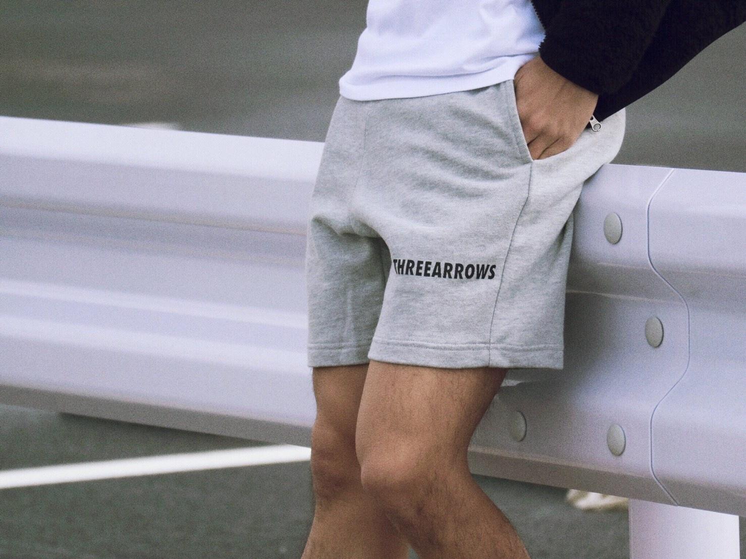 THREEARROWS スウェットパンツ(grey)