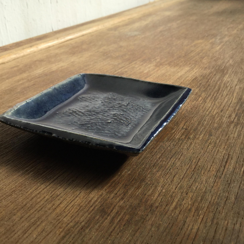 【蓮見かおり】 角豆皿 Φ9㎝×9cm 13 - 画像4