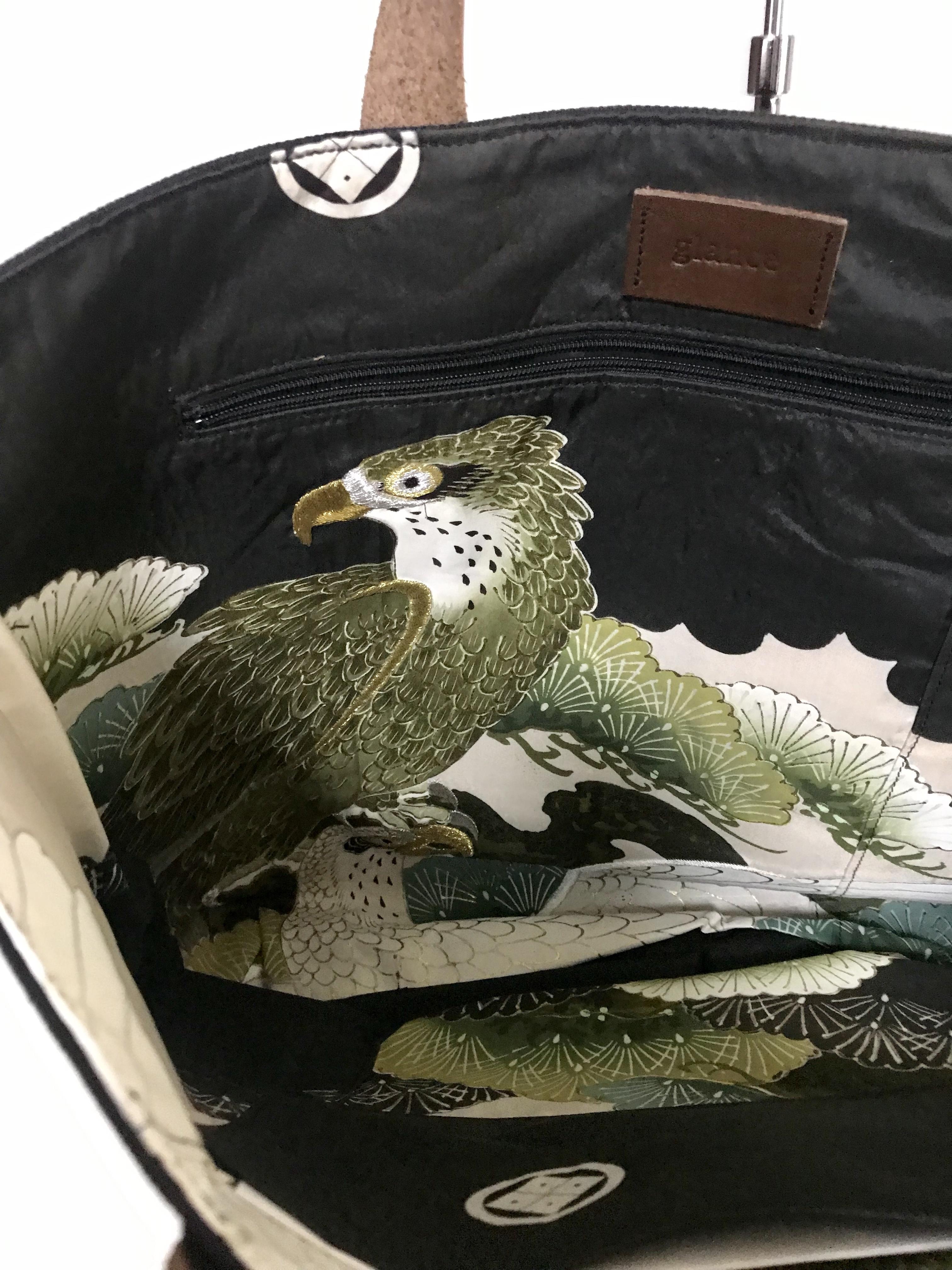 帆布トートバッグ /  2 eagles