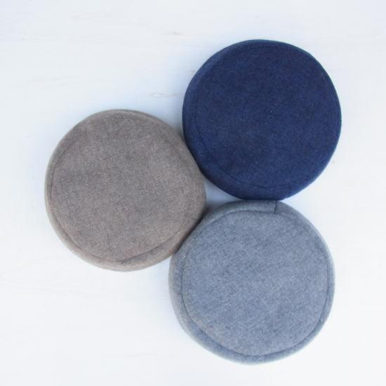 リバーシブルラインベレー帽子 全3色 - 画像5