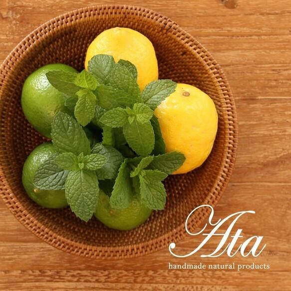 ■当日出荷■アタ製 コロンと丸いミニボウル A38 (かご、ボウル、皿、小物入れ、お菓子入れ、果物かご)