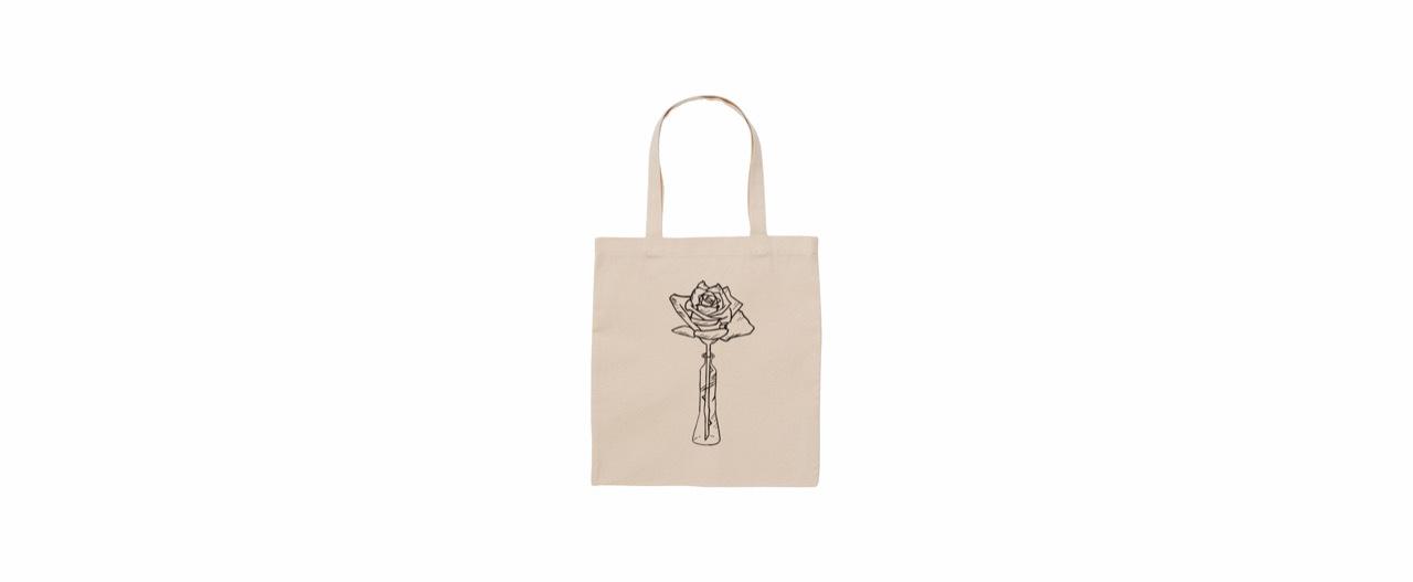 coguchi Rose tote bag (NATU)