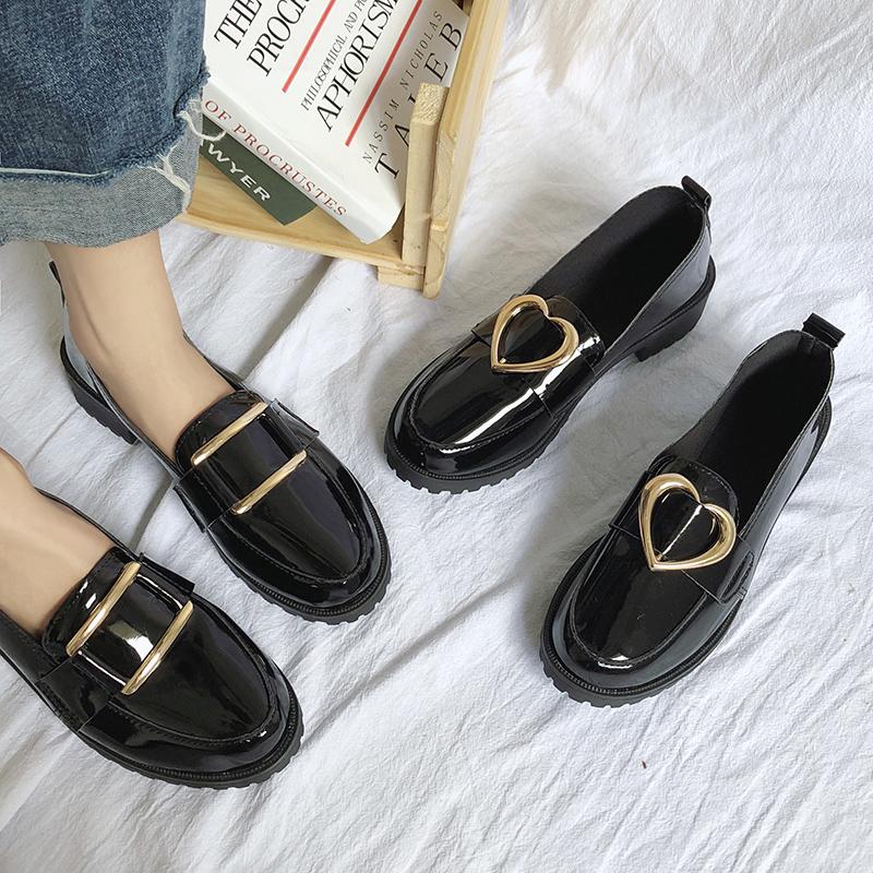 【shoes】レトロ合わせやすい高品質パンプス15672529