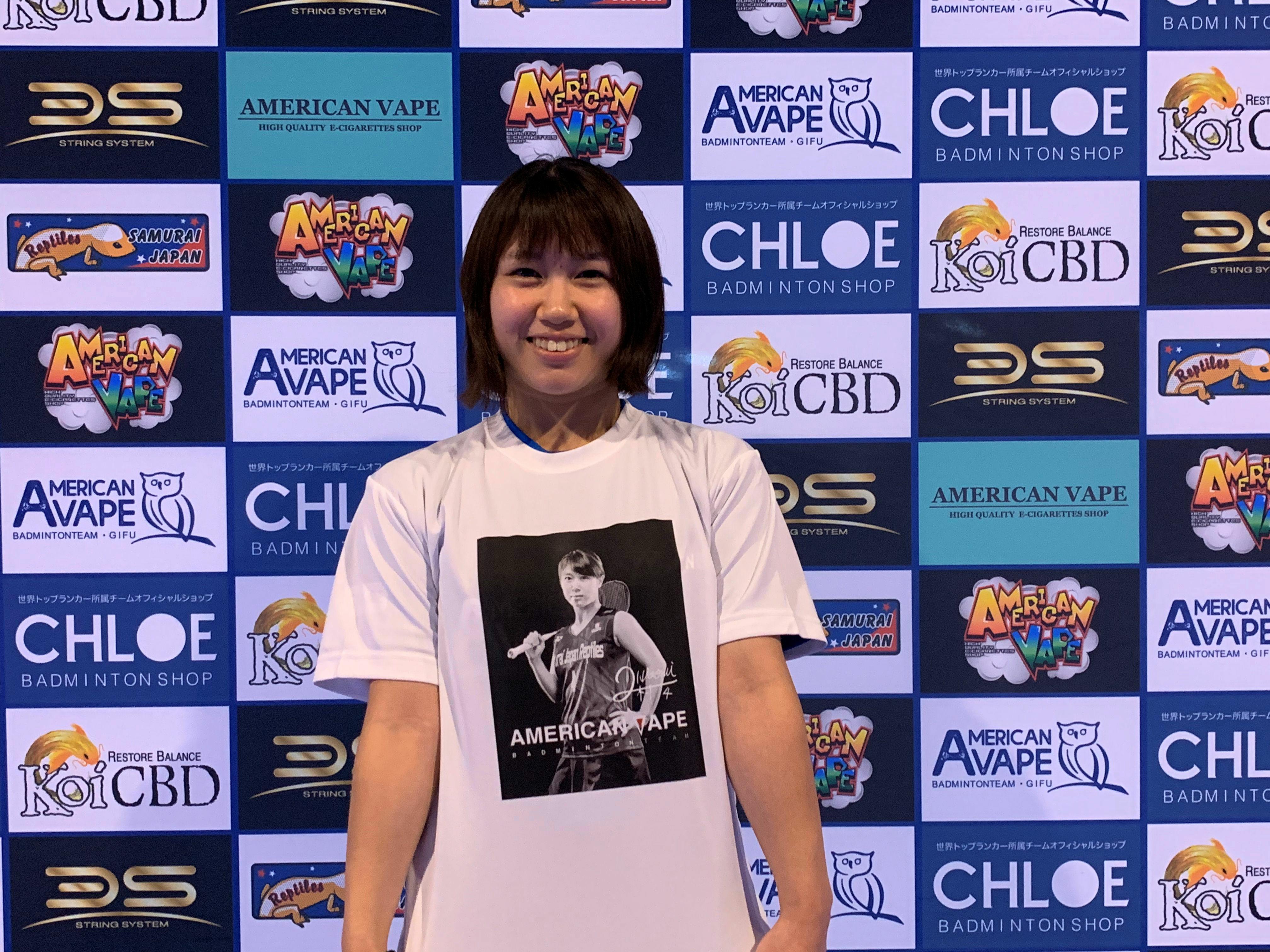 二村選手プリントTシャツ(受注生産品)