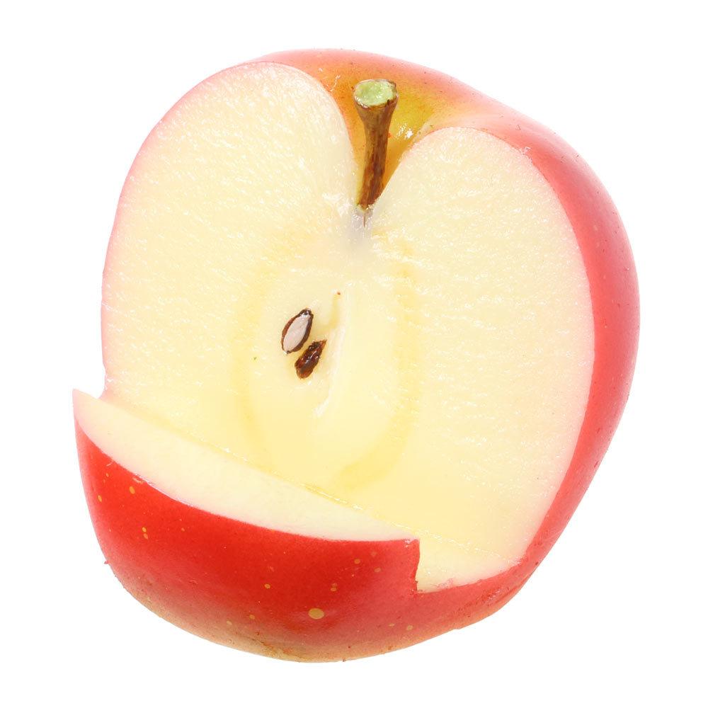 [9012]食品サンプル屋さんのスマホスタンド(りんご)【メール便不可】