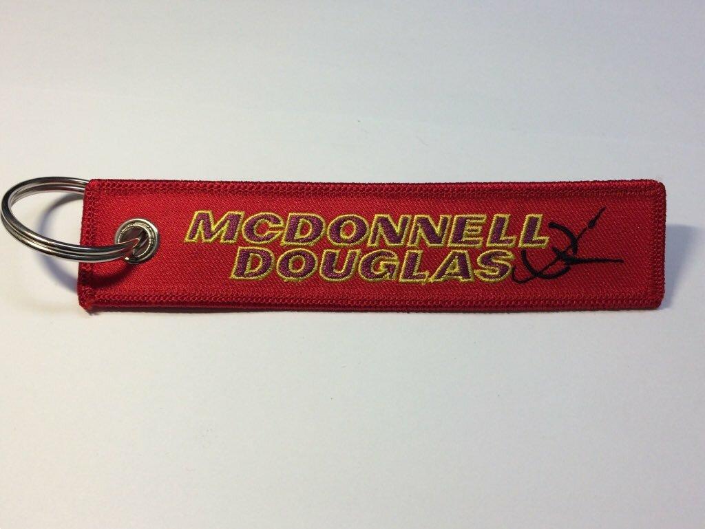 RemoveBeforeFlightキーホルダー McDonnell Douglas