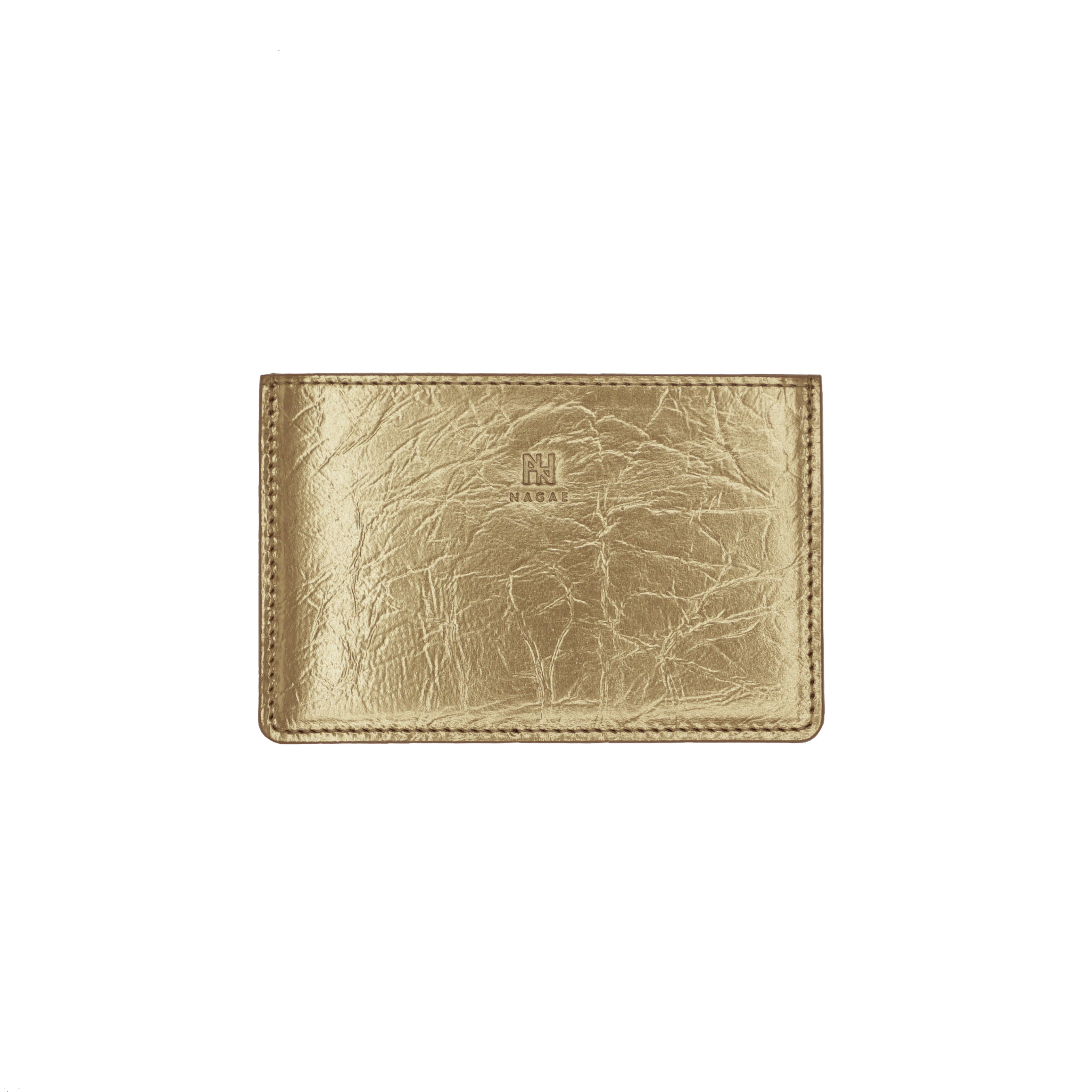 TIN BREATH Business card case single  Antique gold