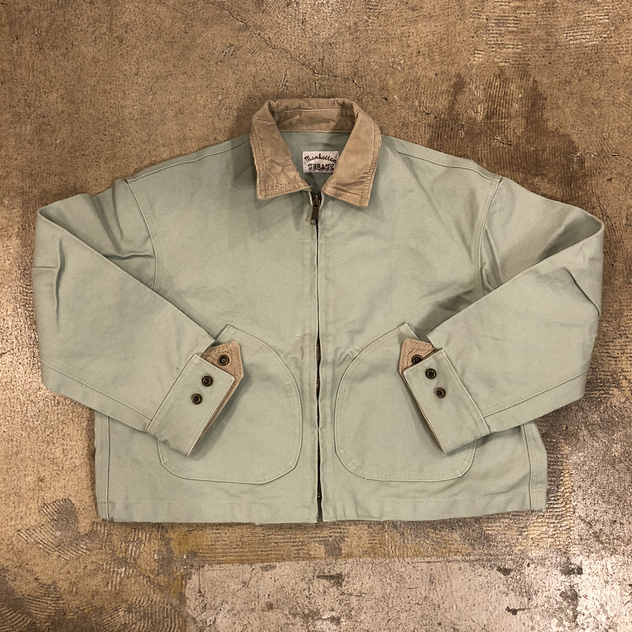 MANHATTAN TREATS #Barrymore Jacket Ford Green