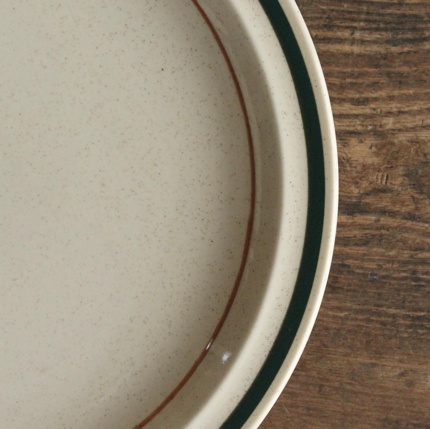 king ディナー皿 ストーンウェア