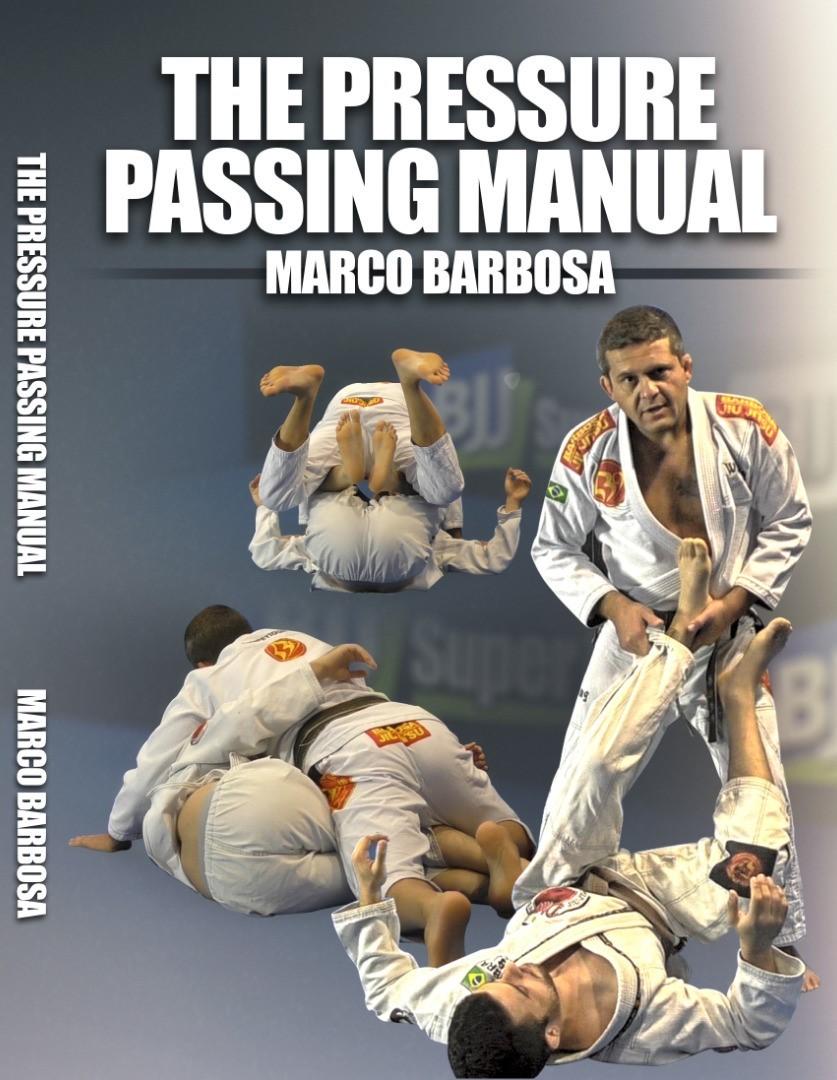 マルコ・バルボーザ ザ・プレッシャーパスマニュアル DVD2枚セット|ブラジリアン柔術テクニック教則