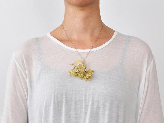 植物を身につけるペンダント/pick a jewel [pendant]