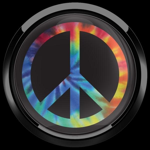ゴーバッジ(ドーム)(CD1079 - PEACE TIE DYE) - 画像2