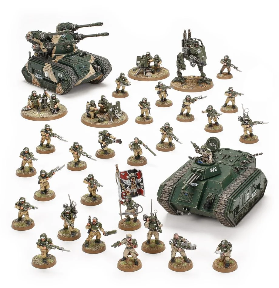 Astra Militarum: Battleforce – Bastion Platoon(1点限り、お早めに!)