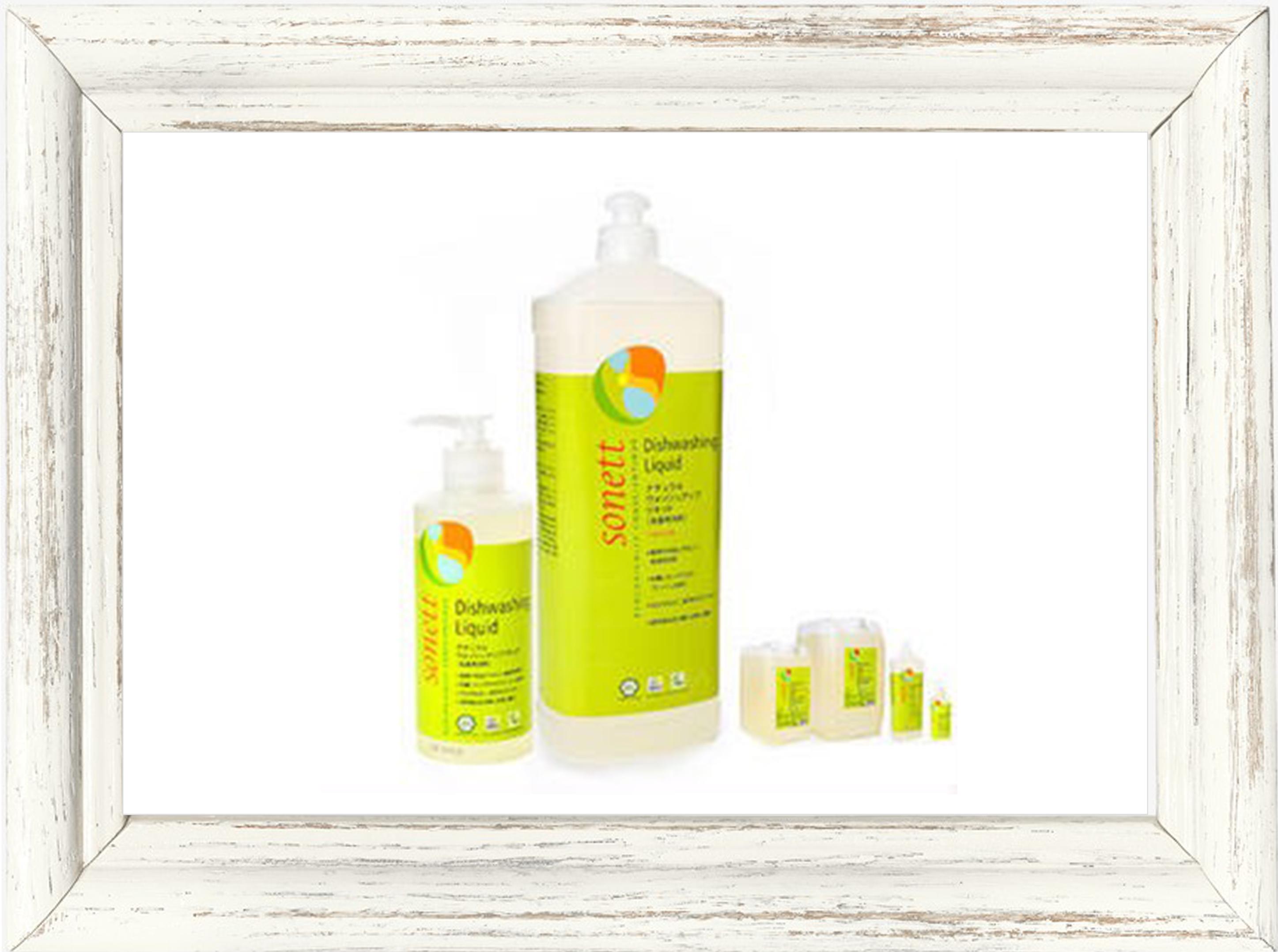 食器用洗剤▶︎sonett ナチュラルウォッシュアップリキッド (食器用洗剤) 1L