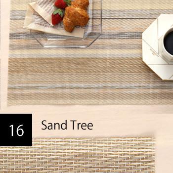撥水PVC サンドツリー ランチョンマット 2枚セット