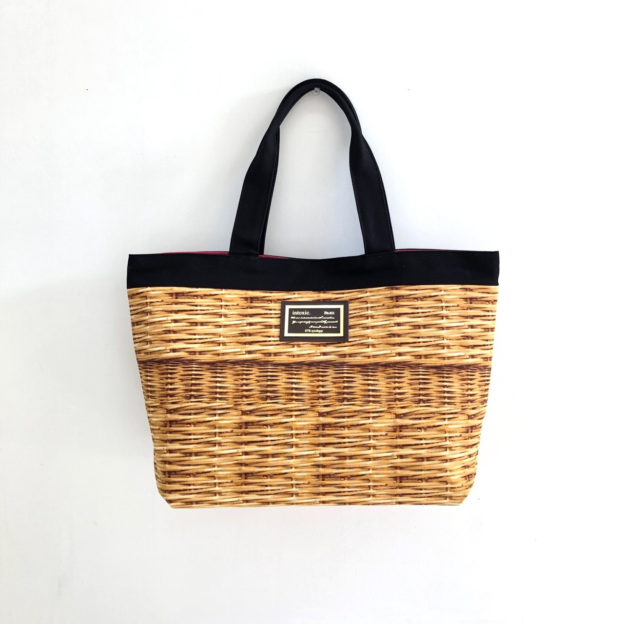 【 INTOXIC 】BASIC TOTE BAG