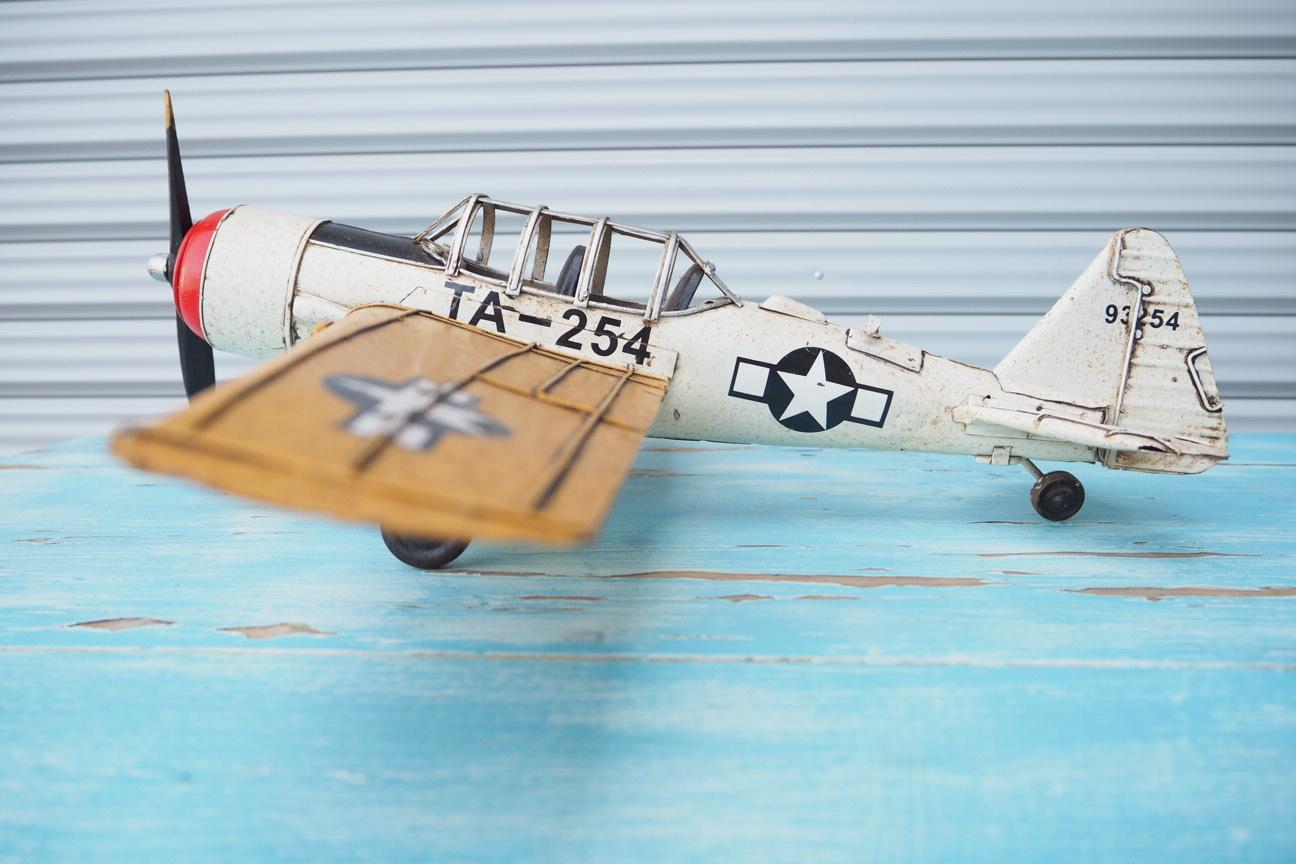 品番2572 ブリキの飛行機 011