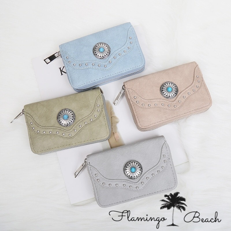 【FlamingoBeach】boho wallet