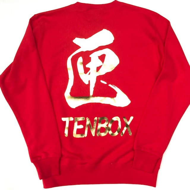 【TENBOX】BLACK DRAGON SWEAT