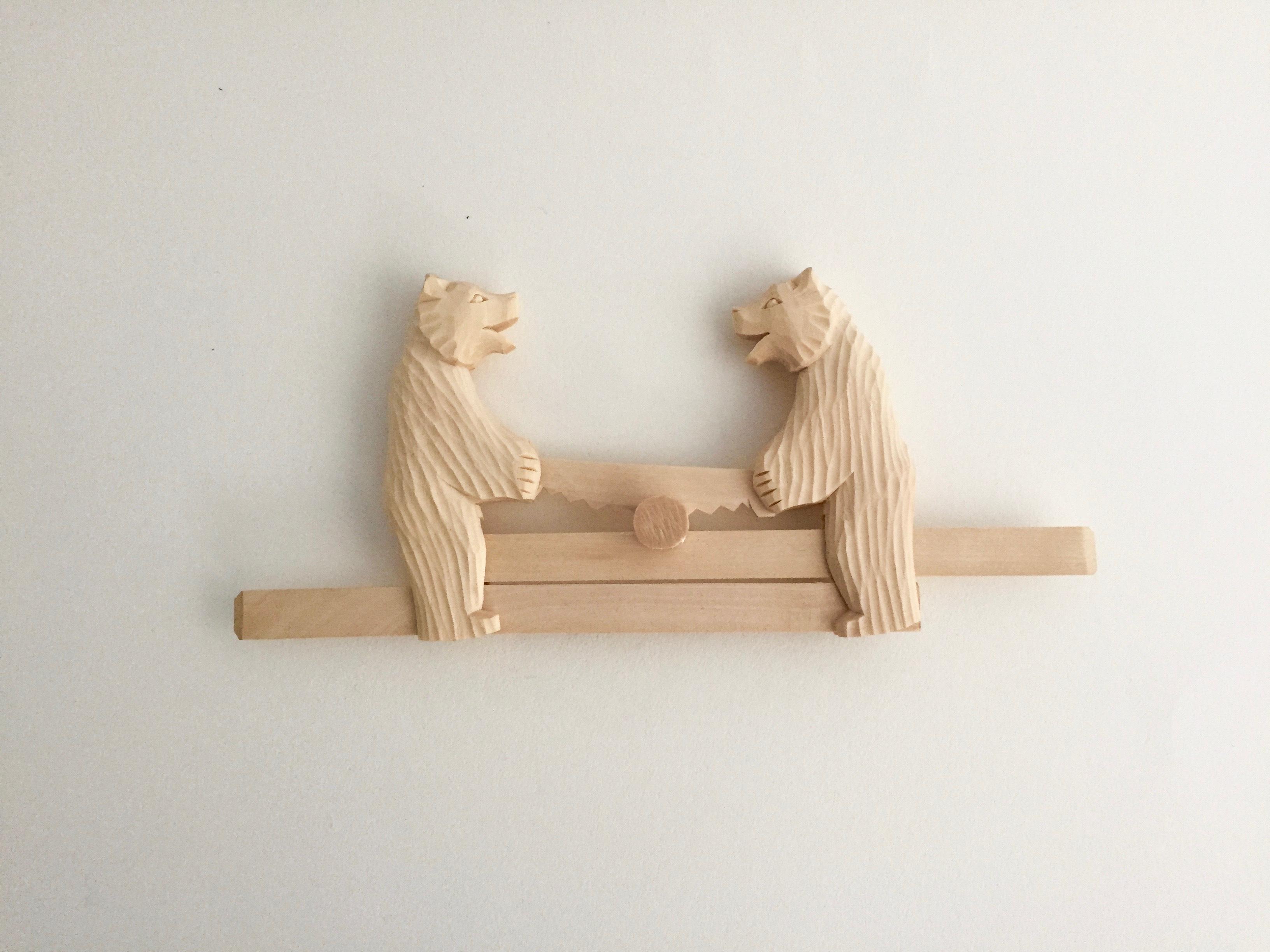 ボゴロツコエ木地玩具「クマの大工」