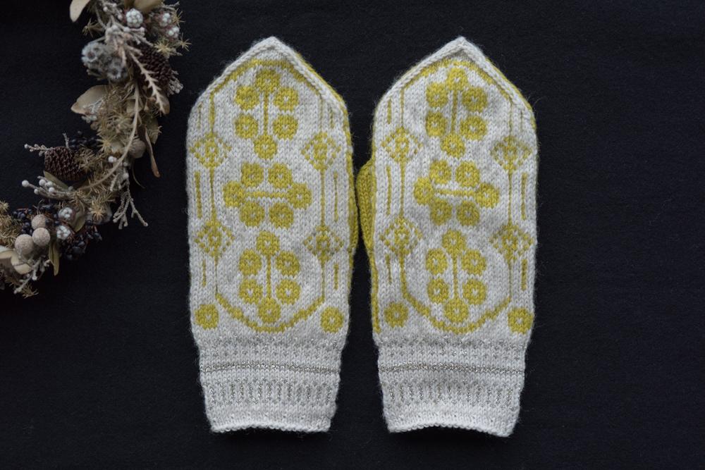 sunao knitting ミトン 大人用 【 ringing 】