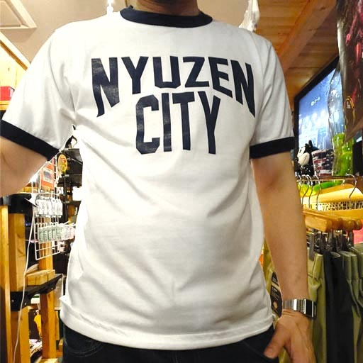 NYUZEN CITY リンガーTシャツ【入善町】