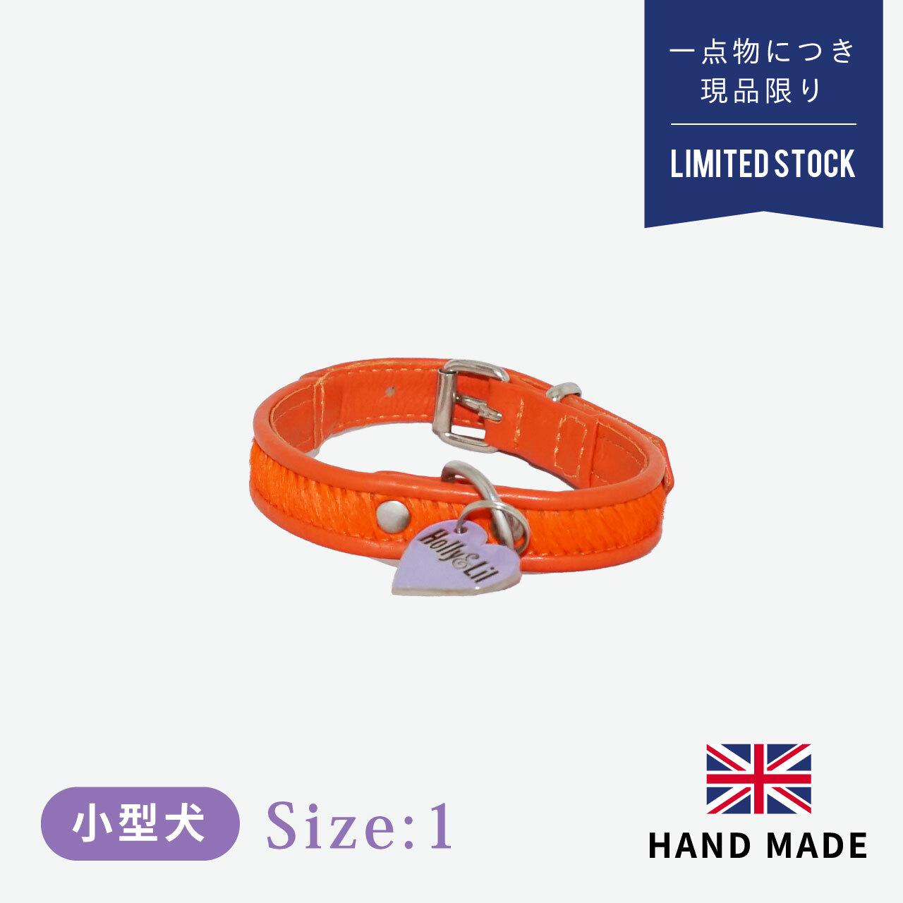 ホリー&リル ブライトサイド オレンジ カラー(首輪) size1