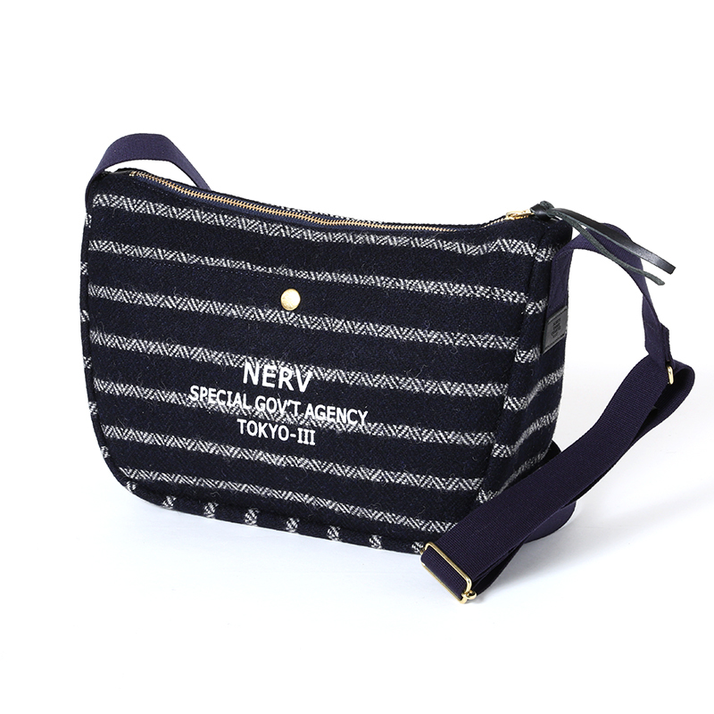 EVA × Harris Tweed Shoulder Bag (ネイビー)  / RADIO EVA