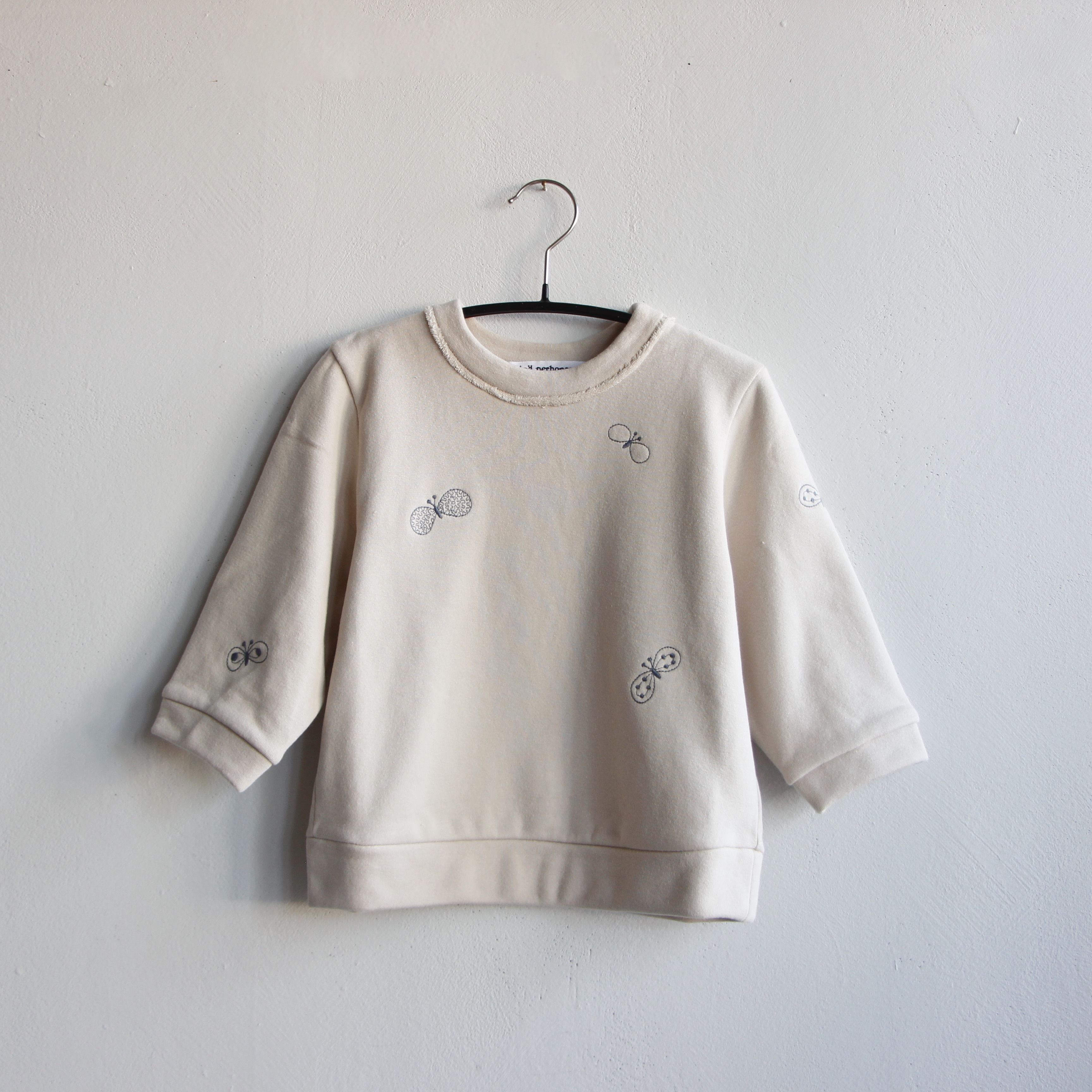 《mina perhonen 2020AW》choucho プルオーバー / beige / 110-120cm