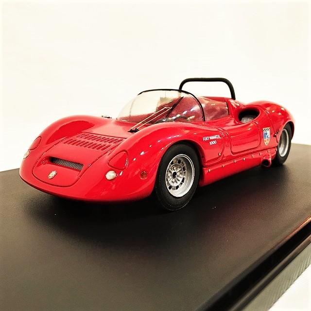 Fiat Abarth 1000 SP Barchetta Tubolare 1965 1/24【1個のみ】【税込価格】