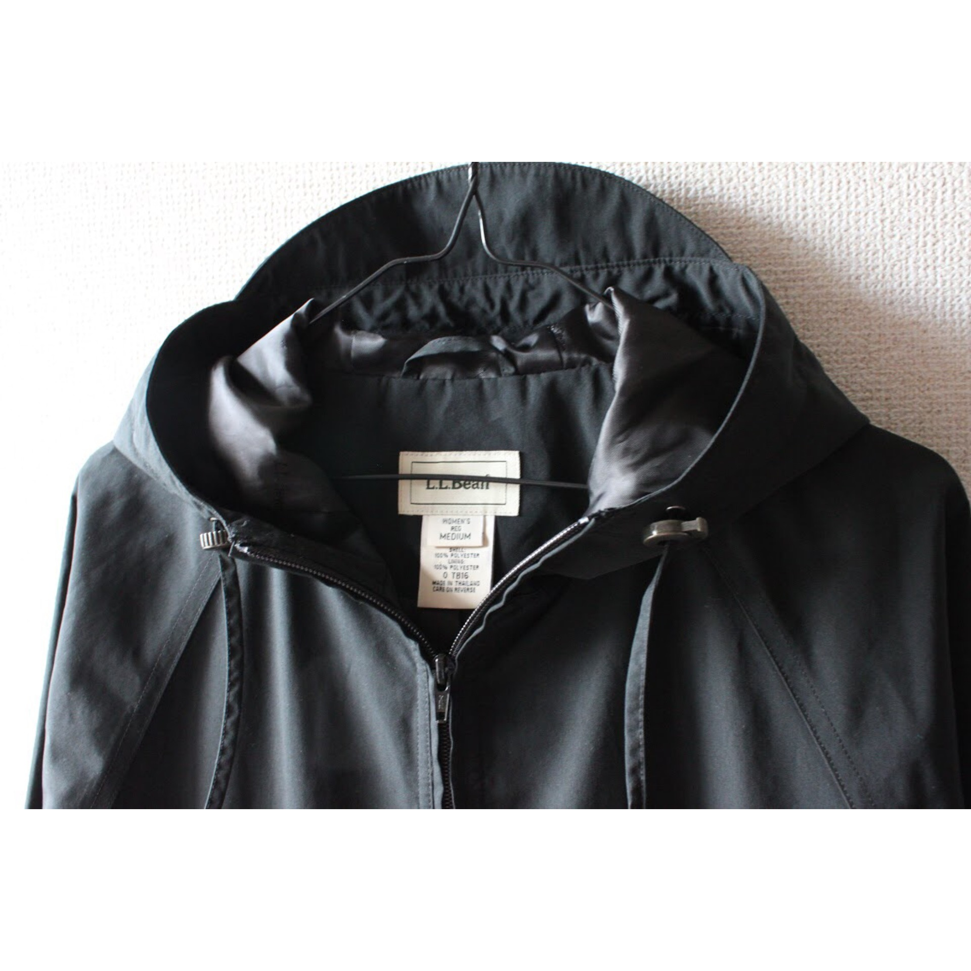 Vintage hooded zip coat by L.L.Bean