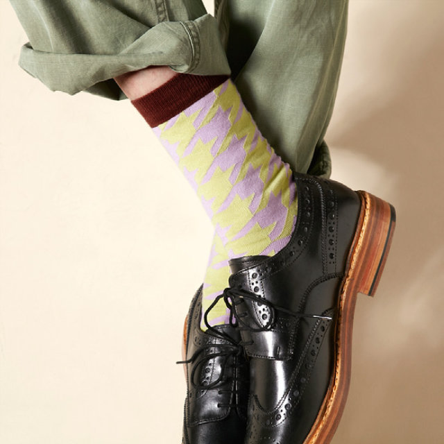 Hunter Socks 117902 【London shoe make THE SOCKS】
