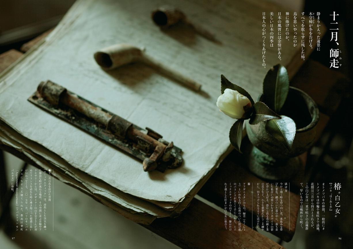 【送料無料】『四季をいつくしむ花の活け方』[書籍] - 画像4