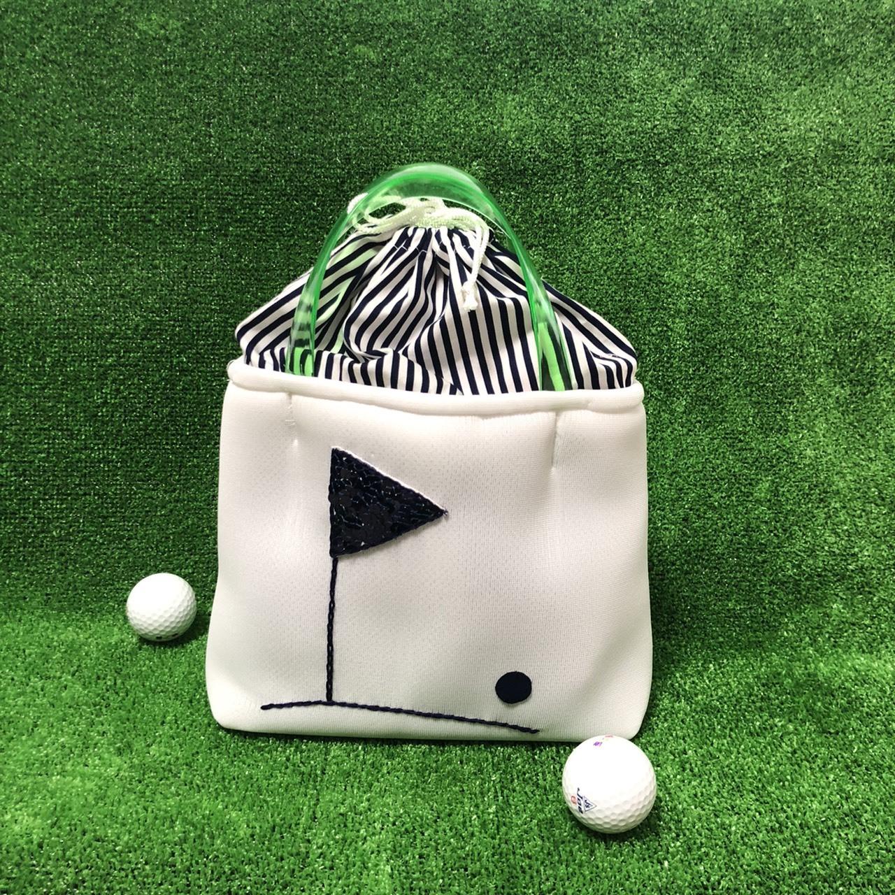 【新商品】ゴルフカートバッグ(ホワイト)