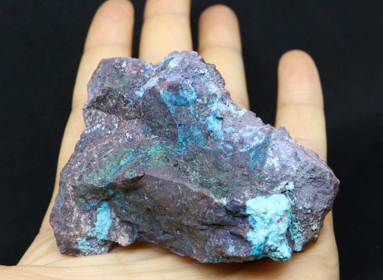 クリソコラ 珪孔雀石 アリゾナ州  144g CHS012  鉱物 天然石 原石 パワーストーン