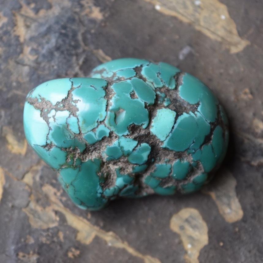 チベタンターコイズ 22 大型青緑