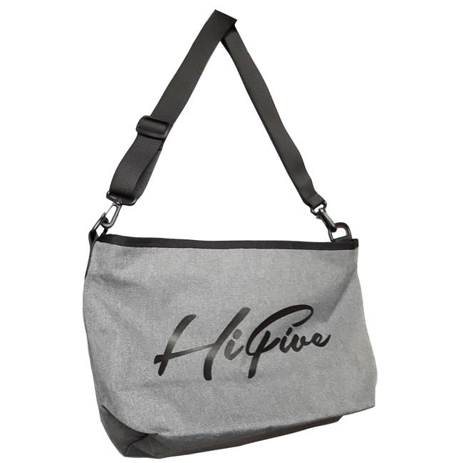 Hi FIVE shoulder bag  ショルダーバッグ ボディバッグ グレー