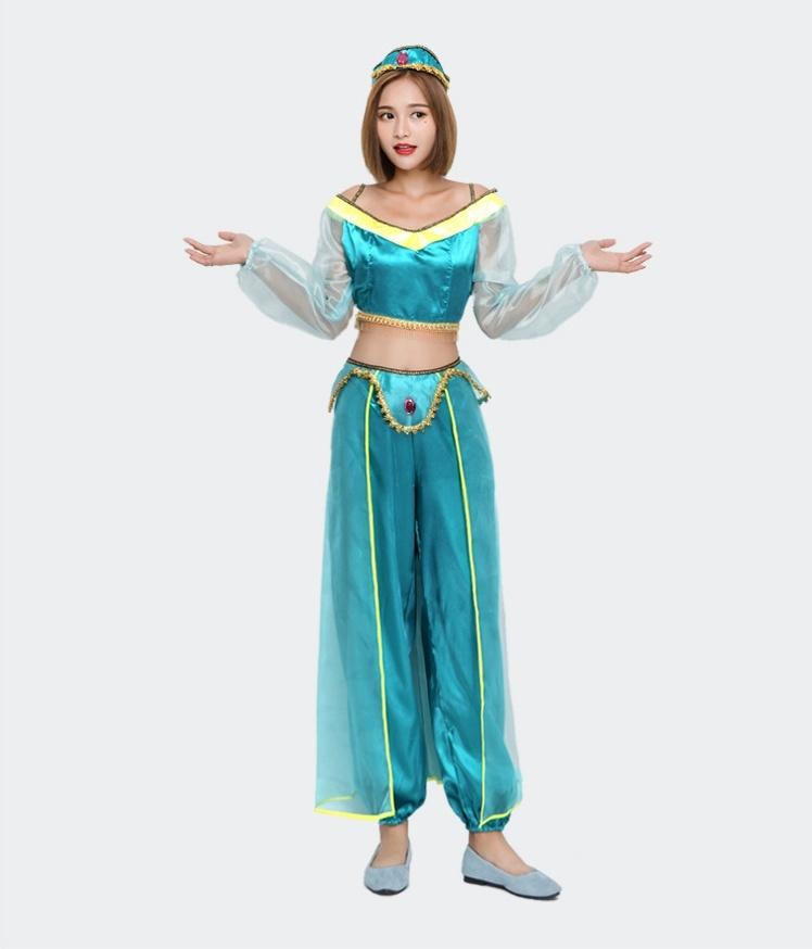 92592c96a86b0  ハロウィン衣装 レディース アラジンと魔法のランプ コスプレ衣装  親子仮装 ジャスミン コスチューム. welcome