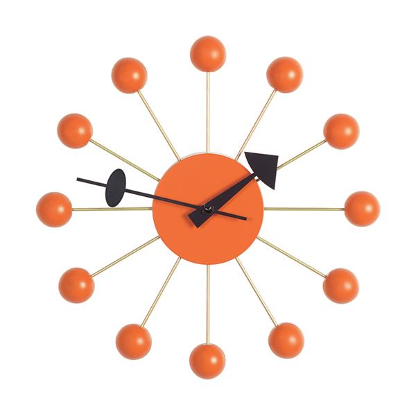 Vitra Ball Clock オレンジ