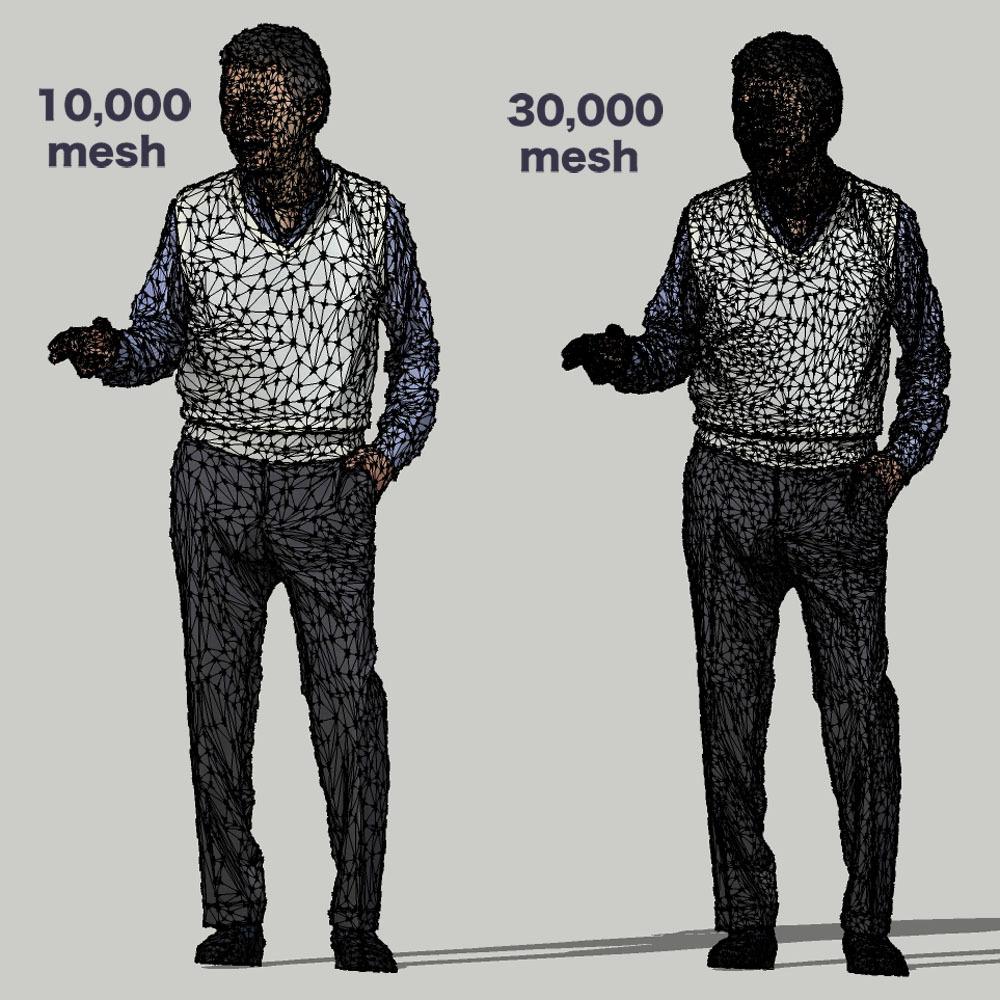 SketchUp素材 3D人物モデル ( Posed ) 049_Ken - 画像3