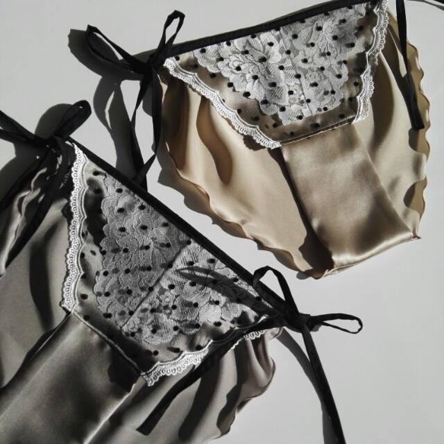 SILK lingerie* dot ランジェリー シルク