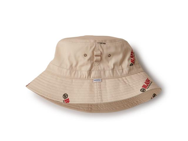 RAW × INTERBREED|Logo Textile Hat