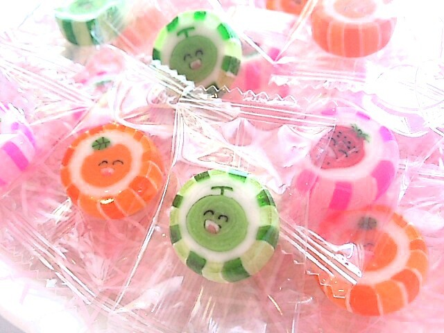 ニコニコフルーツキャンディ(ギフト用各種)・・・受注後パッケージ詰・・・(先ずはお問い合わせください)